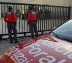 Detenido un vecino de Larraga por insultar a policías forales