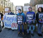 Una manifestación reivindica en Pamplona la