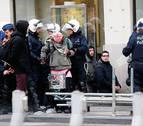 Una manifestación antifascista en Bruselas se salda con 70 detenidos