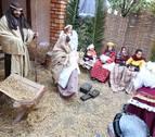 Cortes celebra su tradicional Belén viviente, que ha contado con 33 escenas