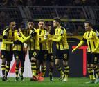 Merino juega los 90 minutos en el tropiezo del Borussia contra el Augsburgo