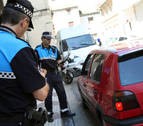Siete detenidos en Pamplona por etilometrías positivas
