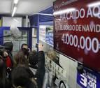 'El Gordo' del Sorteo de Navidad ha caído tres veces en Pamplona