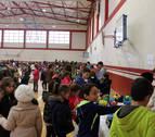 El colegio de Cintruénigo recauda 2.000 € para los niños refugiados