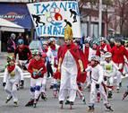 Los patinadores toman Pamplona en la primera San Silvestre del día