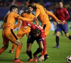 Osasuna firma un partido lamentable y se olvida de la Copa