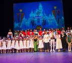 El teatro Gaztambide casi llena con el musical 'Frozen'