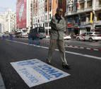 Carmena cree que la Gran Vía de Madrid se peatonalizará esta legislatura