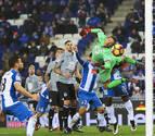 El Espanyol no culminó la remontada contra un Dépor con diez