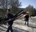 Sin nieve al inicio de la Semana Blanca en Navarra