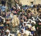 Cientos de personas asisten a La Vijanera, primer carnaval de 2020 en Europa