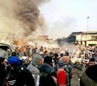 Al menos siete muertos en un segundo atentado suicida en Bagdad