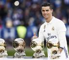 Cristiano, gran favorito al primer premio 'The Best' de la FIFA