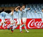 Radoja rescata al Celta en el último minuto para vencer al Alavés