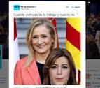 Populares y socialistas se enfrentan por un tuit del PP de Madrid