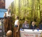 Pamplona y sus murallas, protagonistas del stand de Navarra en Fitur