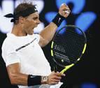 Nadal supera sin problemas a Baghdatis y se mete en la tercera ronda en Melbourne