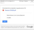 Alertan de una campaña de 'emails' fraudulentos que suplantan a Google