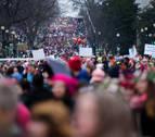 La 'Marcha de las mujeres' planta cara a Trump en su primer día como presidente