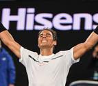 Nadal vence a Raonic y avanza a las semifinales del Abierto de Australia
