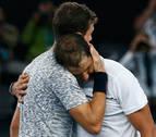 Nadal vence a Dimitrov en un partido épico y se cita con Federer en la final