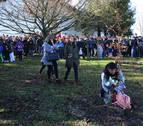 Los vecinos de Arbizu se unen para homenajear a Álex Jaka un año después