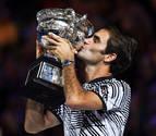 Federer reverdece laureles en Australia ante un épico Nadal y suma ya 18 'Grand Slam'