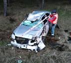 Da positivo por droga tras volcar su coche en Cadreita y dejarlo abandonado