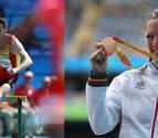 Fernández y Osés, mejores deportistas de Navarra