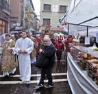 Pamplona se 'empapa' de dulces por San Blas