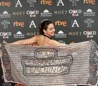 Actrices y cineastas reivindican en la alfombra roja de los Goya