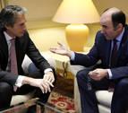 Opiniones de los partidos navarros ante la reunión entre Ayerdi y De la Serna