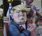 Trump, Messi, Puig e Isabel Pantoja protagonizan los ninots de las Fallas