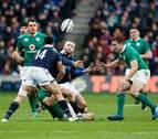 Escocia sorprende a Irlanda en el arranque del torneo