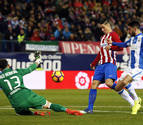 Un doblete de Torres frente al leganés reactiva al Atlético