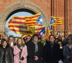 Los independentistas prevén tres mítines en su campaña por el 'sí'
