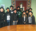 Arróniz delega el mando en los jóvenes por Santa Águeda
