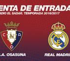 Agotadas las entradas para el partido entre Osasuna y Real Madrid
