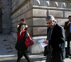 Homs se encara con el Fiscal en los pasillos del tribunal