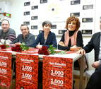 Mil rosas para San Valentín en los comercios de Estella