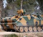 Choques entre el ejército sirio y rebeldes apoyados por Turquía
