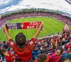 Osasuna no sacará a la venta entradas en taquilla para el día del Sporting