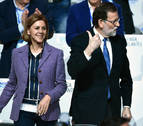 Rajoy mantiene a Cospedal al frente de la secretaría del PP