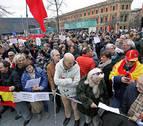 Cientos de personas homenajean en Pamplona a las víctimas de ETA
