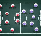 Vasiljevic y Zidane cambian sus sistemas habituales