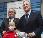 Luis Sabalza y Florentino Pérez, juntos contra el cáncer infantil