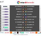 El partido contra el Eibar en El Sadar será el lunes 13 de marzo