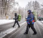 30 años de peregrinos al alza en Roncesvalles