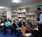 Charla sobre poesía del escritor y profesor Jesús Nieva Oscoz