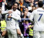 Isco ilumina una victoria sin alardes del Real Madrid